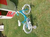 Bici bambina frozen 16+ caschetto