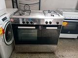 Cucina a gas in acciaio 4 fuochi GLEM