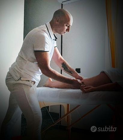 Massaggiatore Olistico del Benessere e Sportivo