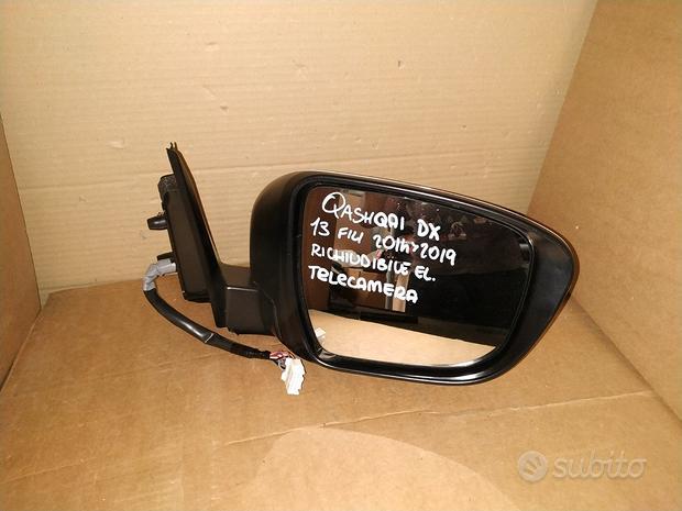Specchietto retrovisore nissan qashqai dx