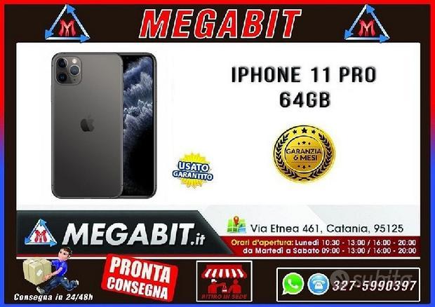 IPhone 11 PRO 64Gb SPACE GREY con garanzia