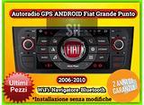 Navigatore Android Fiat Grande Punto 2006-2010