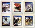 Lotto di 6 giochi usati per Ps4 - Playstation 4