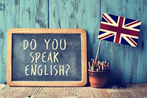 Docente madrelingua inglese, corsi e conversazione