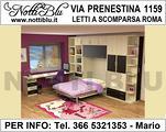 Letti a Scomparsa Roma _ Letto VE619Via PRENESTINA