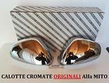 Calotte Cromate ORIGINALI Alfa Romeo MITO