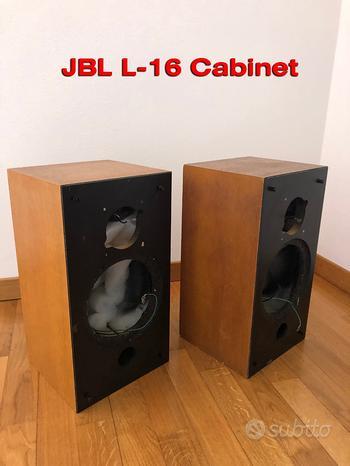 JBL L-16 L 16 Coppia Cabinet rovere