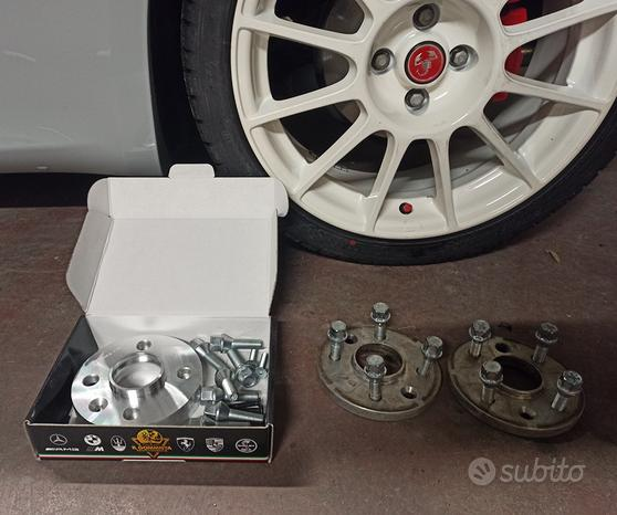 Abarth 500 4 distanziali da 12mm Fiat Lancia Alfa