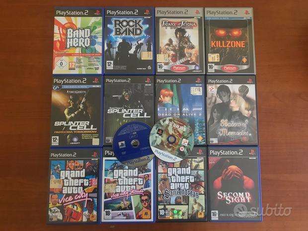 Lotto Videogiochi Sony Playstation 2 Ps2 GTA