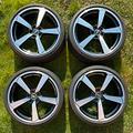"""Cerchi 20"""" orig. Audi Sport TT TTS TTRS gommati"""