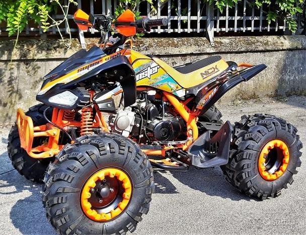NUOVO QUAD MONSTER 125cc R8 ARANCIO