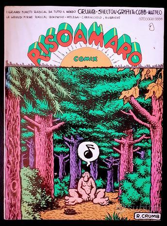 RISOAMARO Comix 1, 1979 - CRUMB; Shelton BUKOWSKI