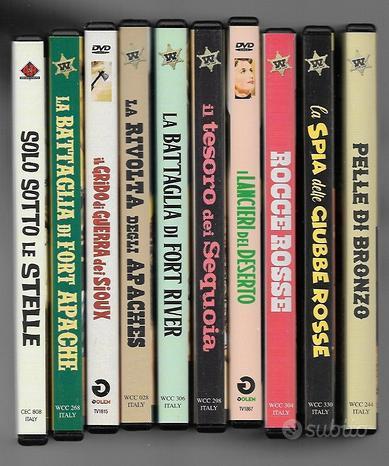 Vari dvd western - come nuovi