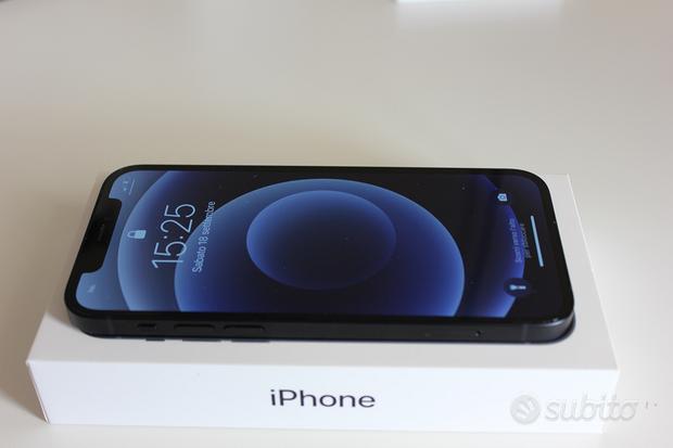 IPhone 12 Black - 128GB   CoverApple