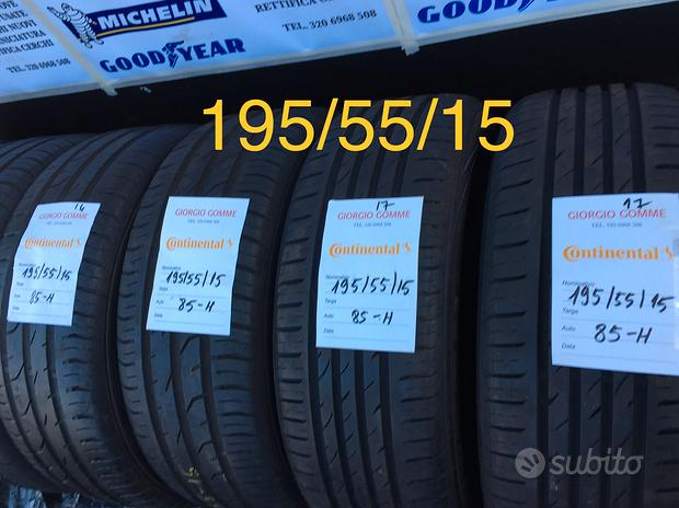 Gomme 195/55/15
