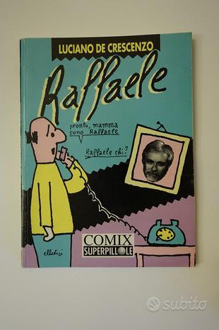 Libro fumetti Raffaele - Luciano De Crescenzo
