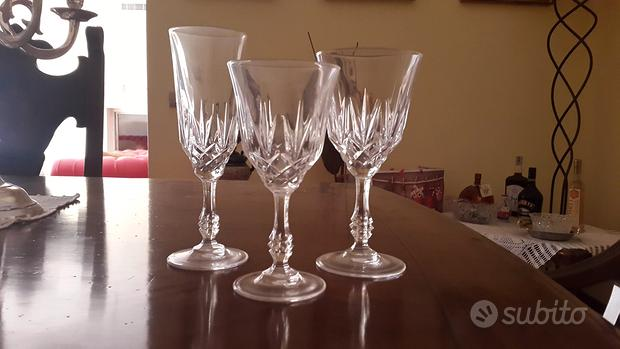 Bicchieri in cristallo