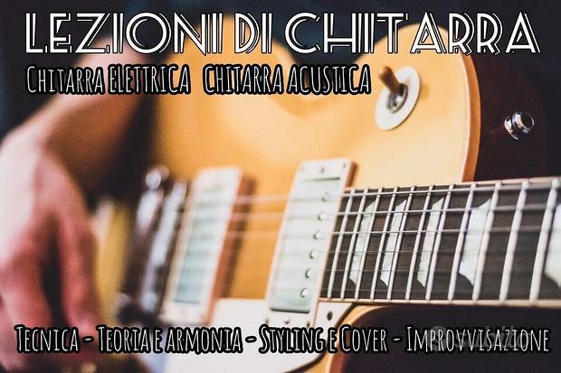 Lezioni di chitarra a Montecatini Terme, Pistoia