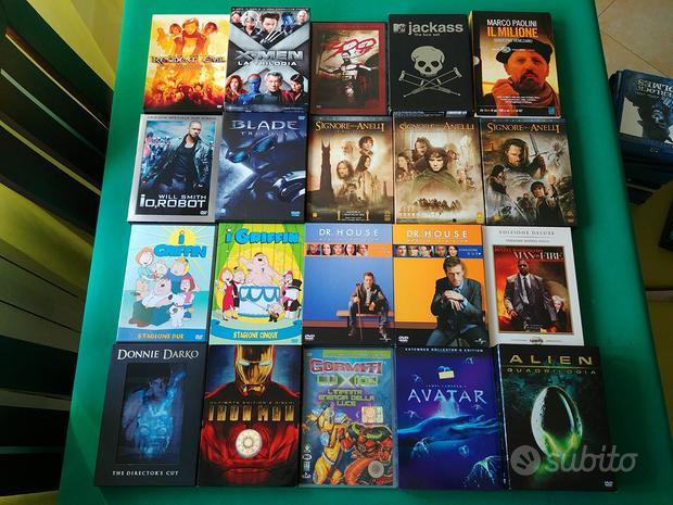 Collezione film DVD & Blu Ray