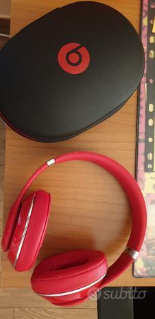 Cuffie beats studio rosse originali con scontrino