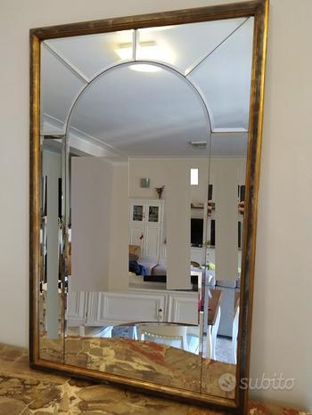 Specchio MOSAICO con cornice Argento
