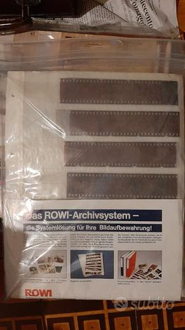 ROWI Fogli per archivio negativi