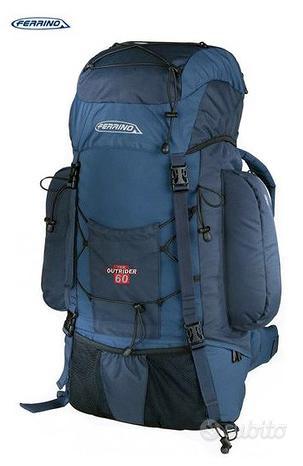 Zaino trekking FERRINO OUTRIDER 100 L, blue
