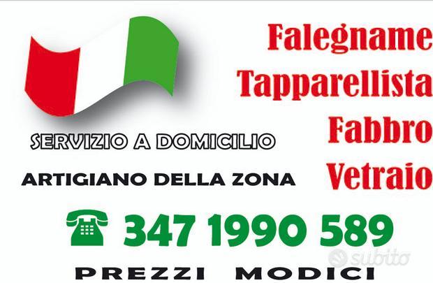 Falegname/Fabbro/Tapparelle/Serrature
