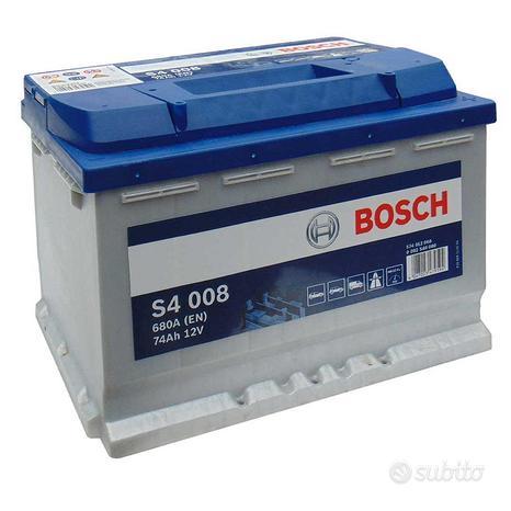 Batteria auto originale bosch s4008 74ah 680a 12v