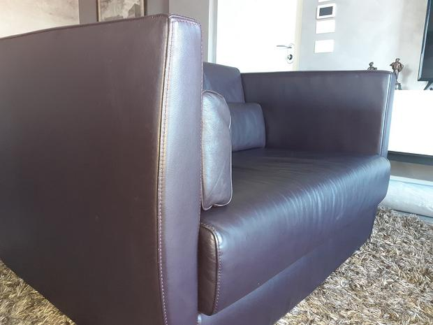Poltrona divano pelle ROCHE BOBOIS