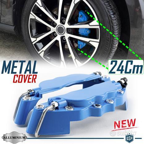 2 Cover COPRI PINZE Freni Auto BLU Tuning 24CM