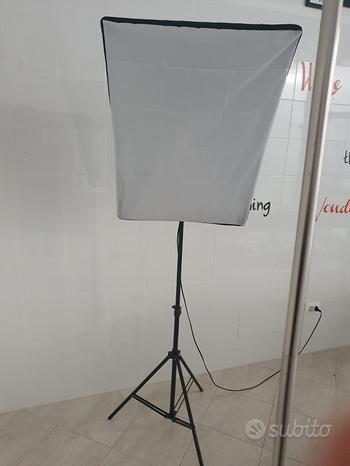 Coppia lampade professionali