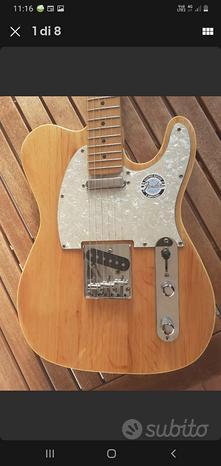 Chitarra elettrica telecaster vintage