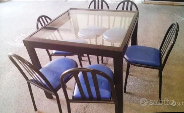 Tavolo in ferro allungabile
