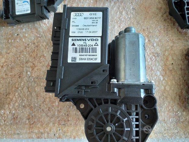 Motorino alzacristallo post SX Audi A4 b7 origin