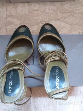 Scarpa Baldinini originale con lacci caviglia n36
