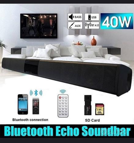 SOUNDBAR Bluetooth 40w Casse Tv Telefono Pc *NUOVA