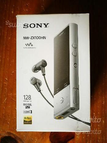 Sony NW-ZX100HN lettore portatile