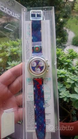 Orologio Swatch Chrono nuovo, anni 80-90
