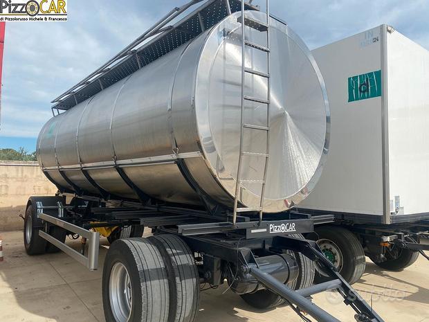 Rimorchio viberti cisterna trasporto alimentari