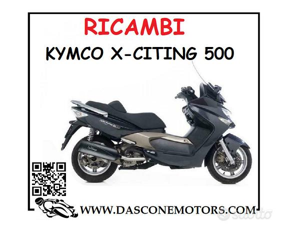 Ricambi Kymco xciting 500 2006