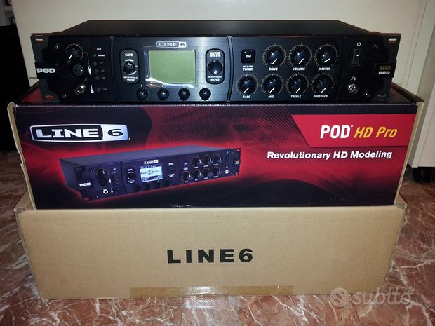 Line6 Pod HD Pro