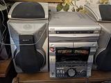 Sony Hi-Fi RX99 sistema stereo completo argento