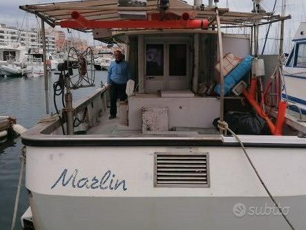 Barca autorizzata sia pesca che pescaturismo