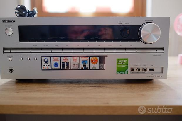 Onkyo TX NR414 Ricevitore Home Cinema 5.1