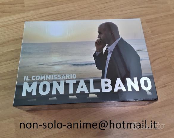 Il Commissario Montalbano box originale dvd