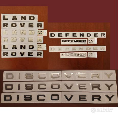 Scritte originali x LAND ROVER DISCOVERY DEFENDER