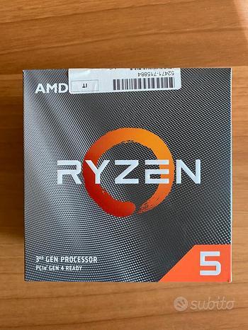 Processore gaming Amd Ryzen 5 3600 da max 4,2 GHz