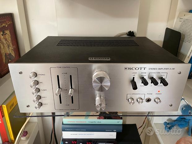 Amplificatore HH Scott A 416