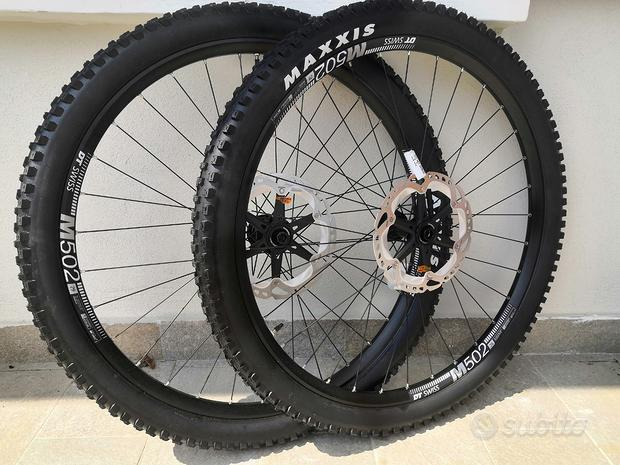 Ruote complete mtb 29 boost dt swiss m502 nuove